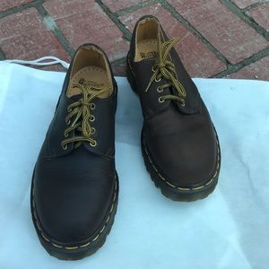 Dr. Martens The Original Brown Leather Shoes